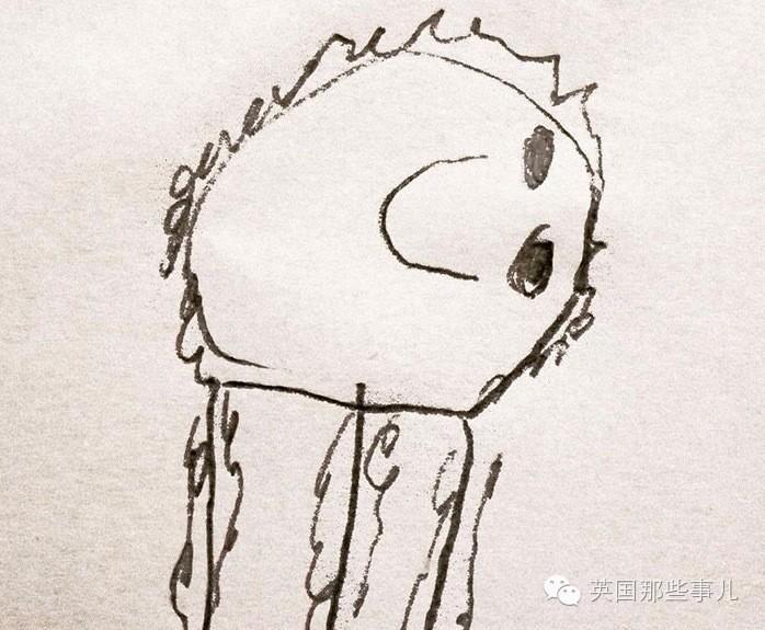 当这老爹把6岁儿子的简笔画P成现实版…画风炸裂