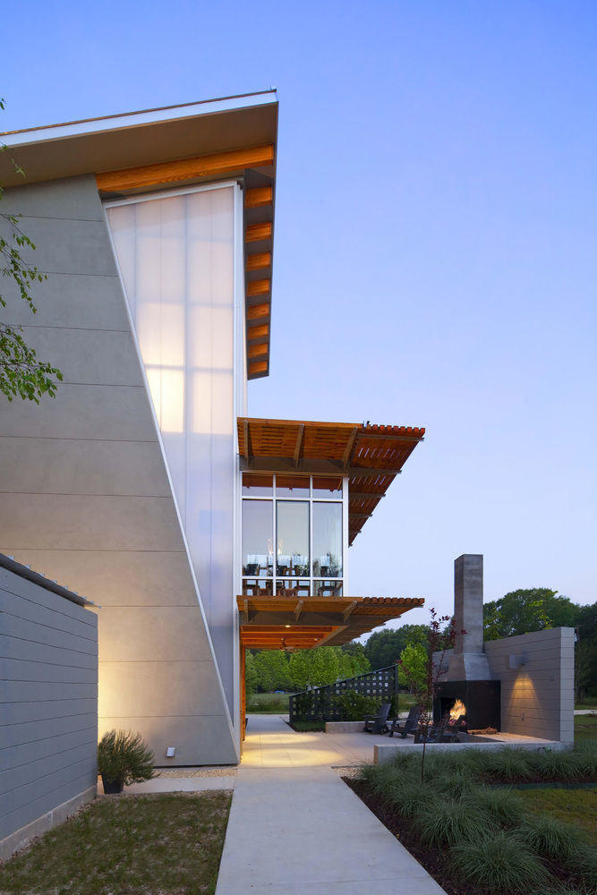 美国兼具美观和宜居性的零碳三层住宅(Zero-Energy Home)