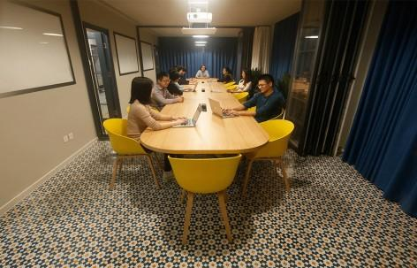 Meeting room- House Parts Office, Beijing by PAO1