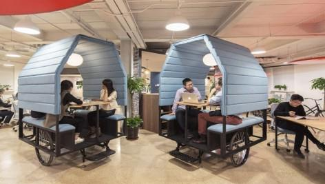 Tricyle Meeting Room- House Parts Office, Beijing by PAO1