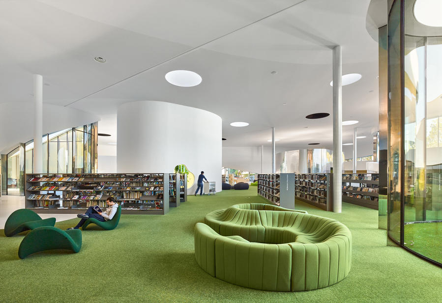 法国Media Library图书馆:追逐自由的态度