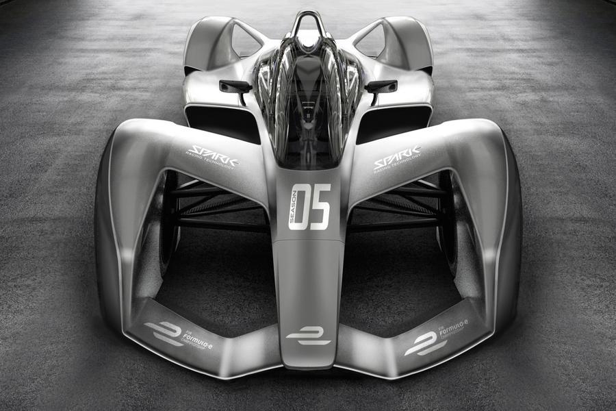 Formula E 电动方程式 2018 全新概念车 SRT05e 曝光